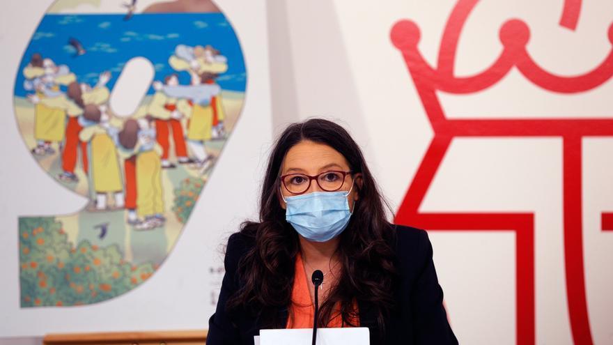 """Oltra: """"La gestión con respecto a las familias ha sido deplorable en la residencia de Alcoy más afectada por el covid"""""""