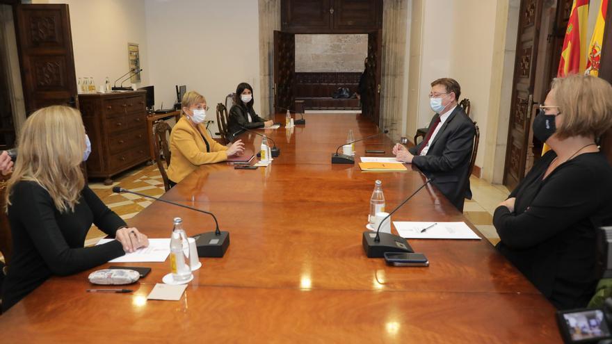 Puig anuncia un plan de choque para acelerar las obras sanitarias pendientes