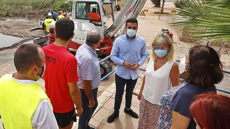El Consell dará ayudas por los daños en Sagunt y Canet