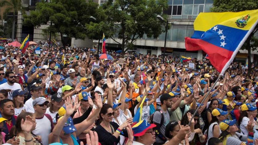 La oposición venezolana gana el premio Sájarov del Parlamento Europeo