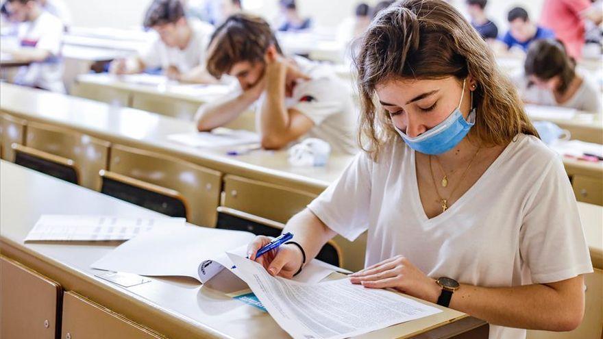 Los alumnos confinados contarán con un plazo excepcional para examinarse de la EBAU