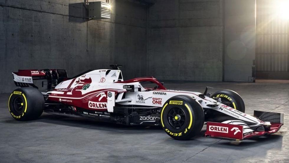 Alfa Romeo C41 (Kimi Raikkonen y Antonio Giovinazzi)