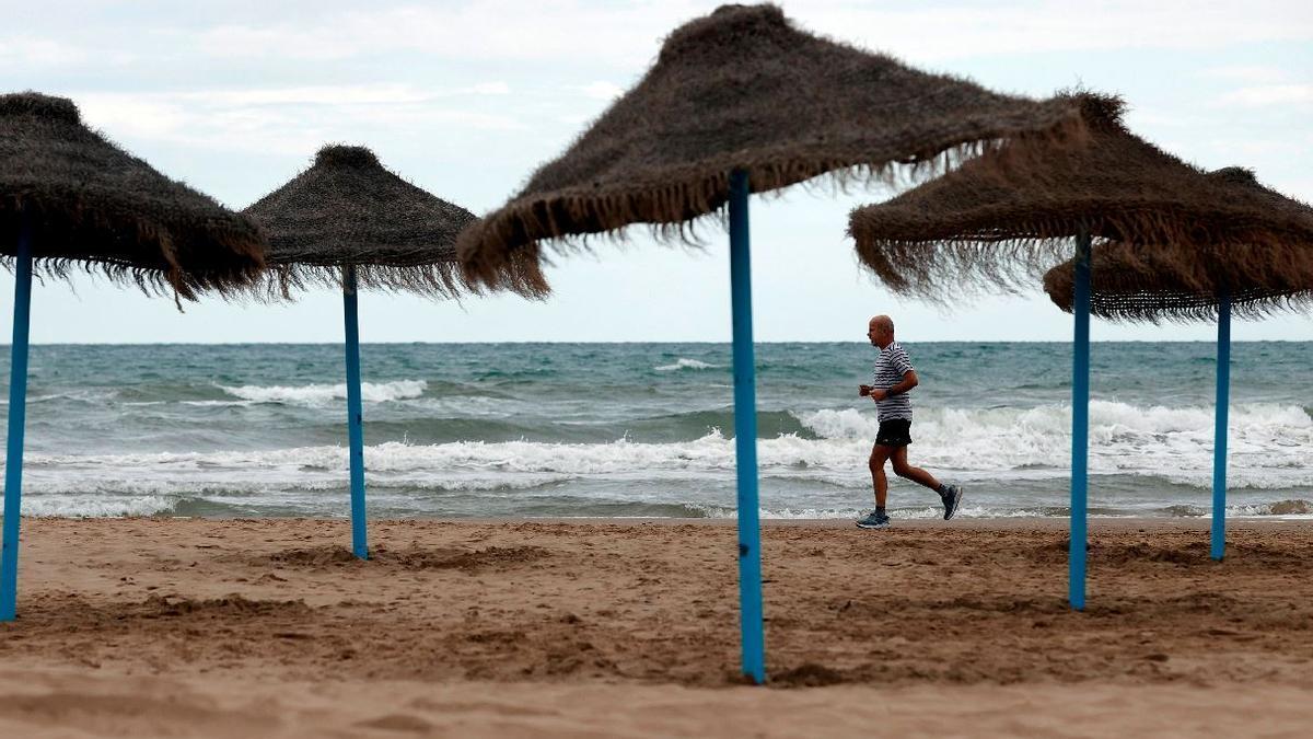Tiempo en Valencia: frío y probabilidad de lluvias para este lunes