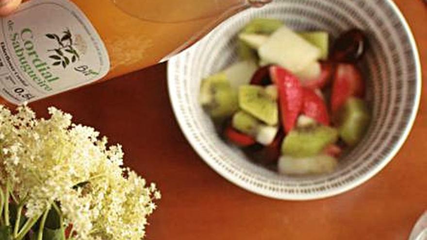 Productos artesanales y alimenticios con saúco en la Reserva da Biosfera-Allariz