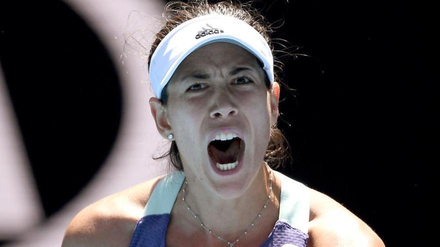 Muguruza vuela a su primera semifinal en Australia tras eliminar a Pavlyuchenkova