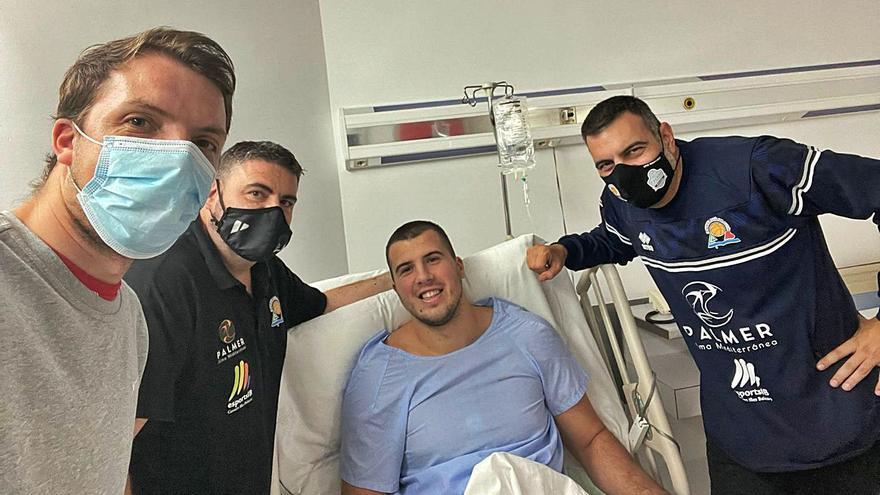 Suskavcevic se opera el ligamento cruzado