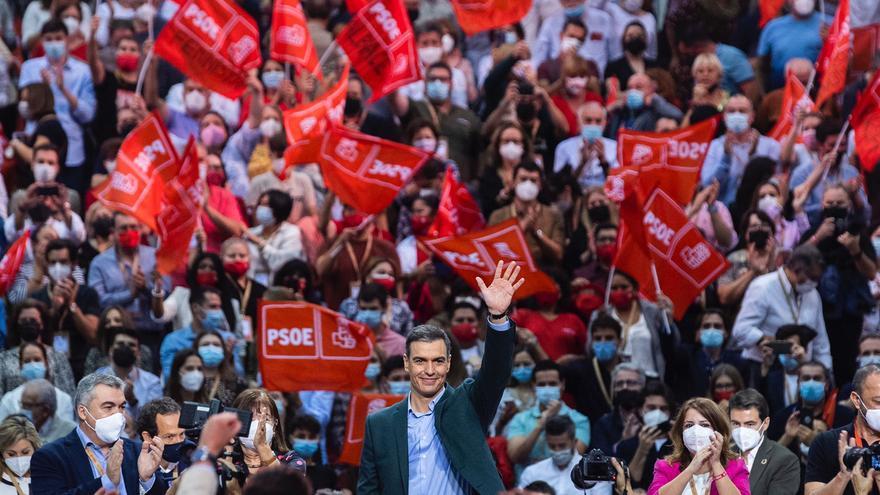 Sánchez llama a defender las conquistas sociales frente al neoliberalismo fracasado
