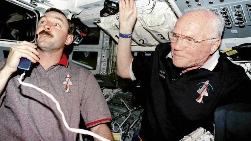 Fallece el astronauta John Glenn a los 95 años
