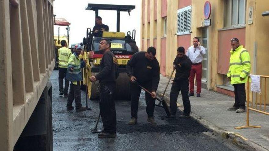 Mañana comienza el asfaltado de seis calles de La Garita, que acaba el 9 de agosto