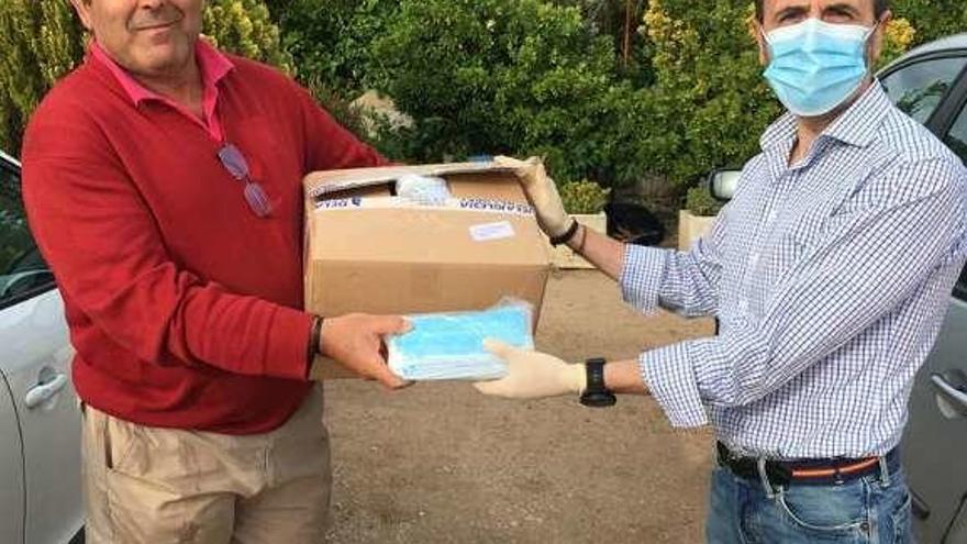 La Diputación entrega al alfoz de Toro más de 16.000 mascarillas
