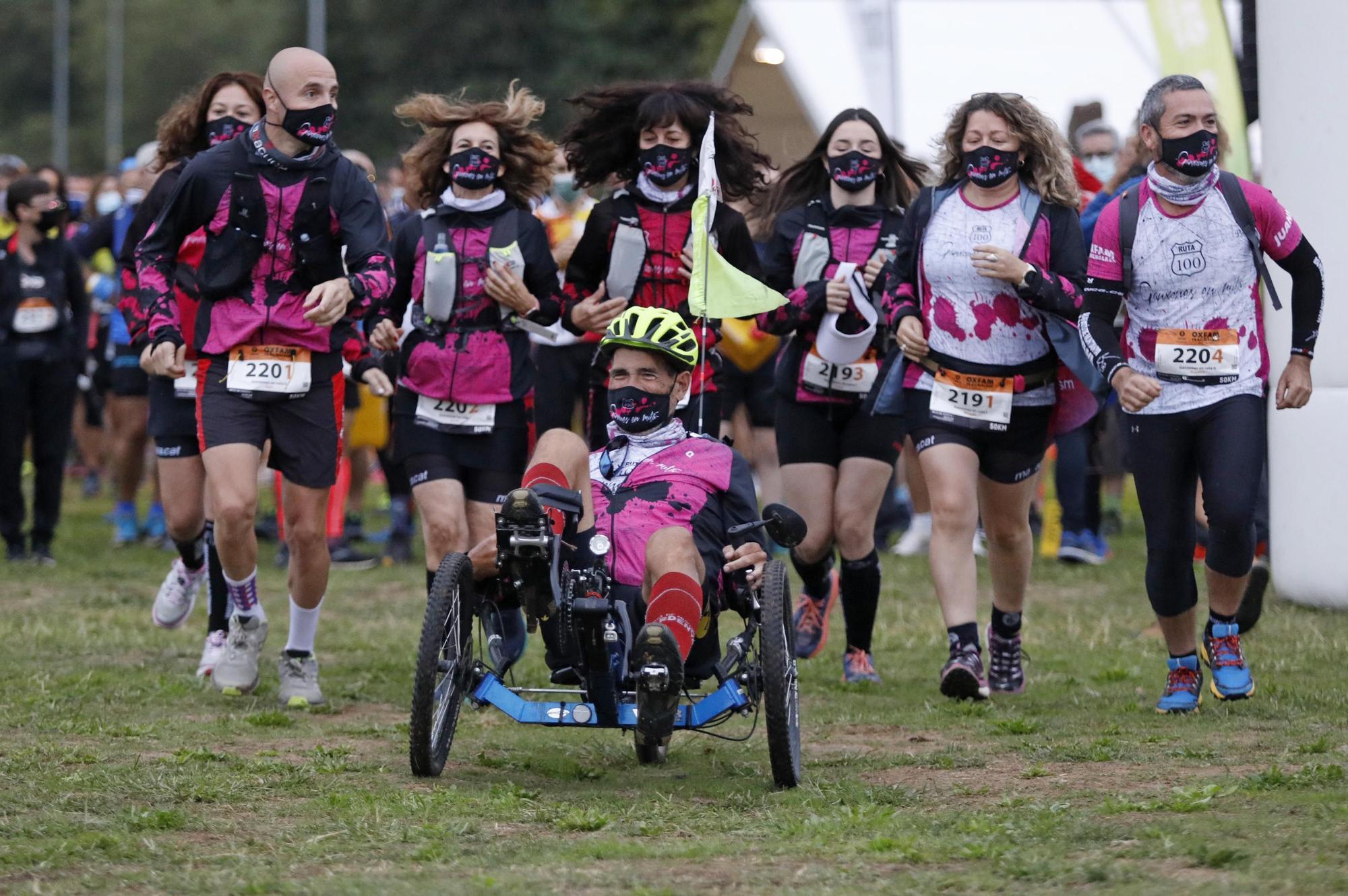 Més de 280 equips i 1.100 corredors participen en la Trailwalker entre Girona i Sant Feliu