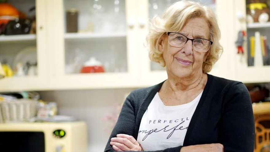 """Carmena reconoce que """"se equivocó"""" al crear Más Madrid"""