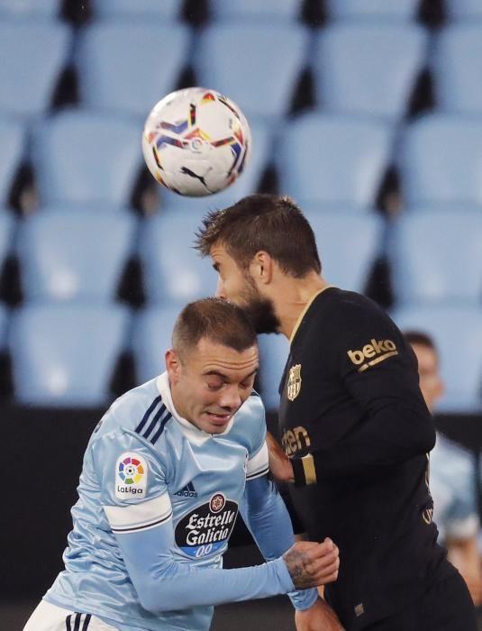 Las imágenes del Celta de Vigo - Barcelona.