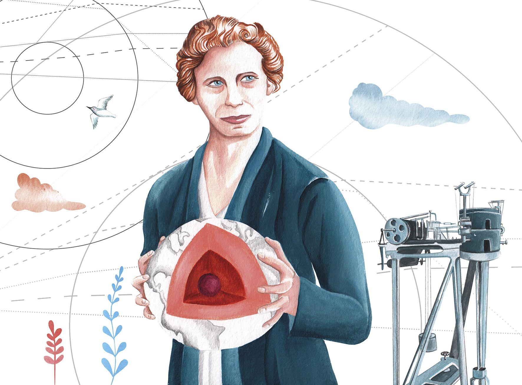 Nívola Uyá dibuja a las geólogas que han hecho historia