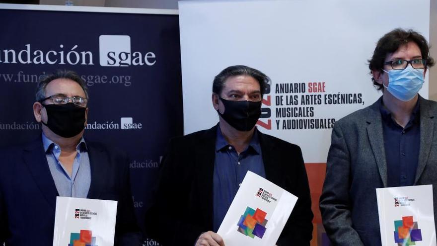 """La SGAE alerta de que el virus lastra al sector cultural, que ya """"empezaba a despegar"""""""