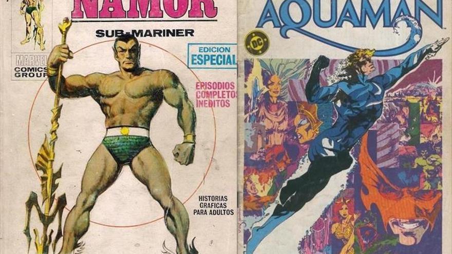 Namor contra Aquaman