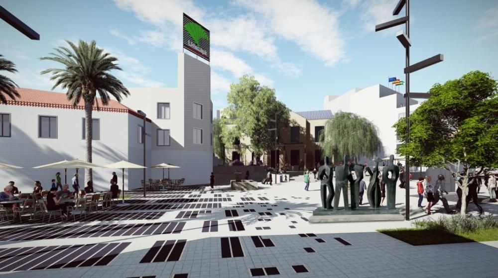 Peatonalización del centro de Torremolinos
