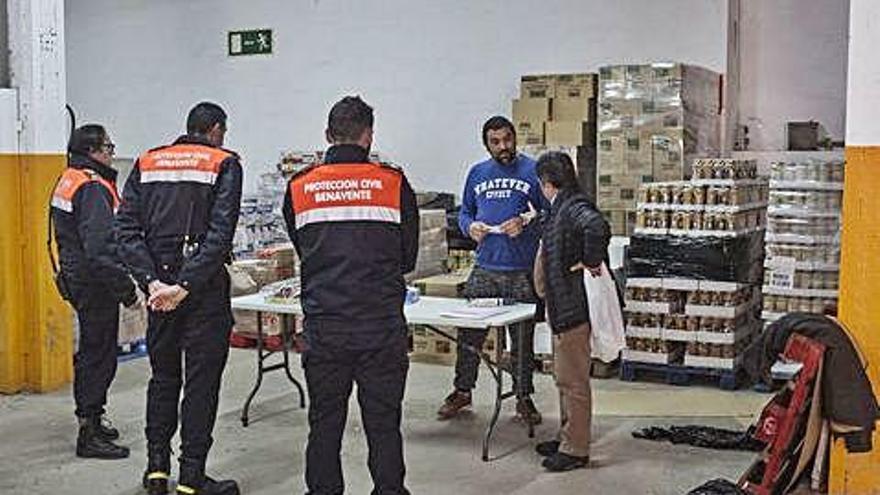 El Banco de Alimentos de Benavente abre para 145 familias