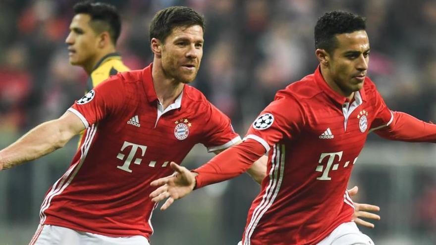 El Bayern de Múnich pasa el rodillo al Arsenal
