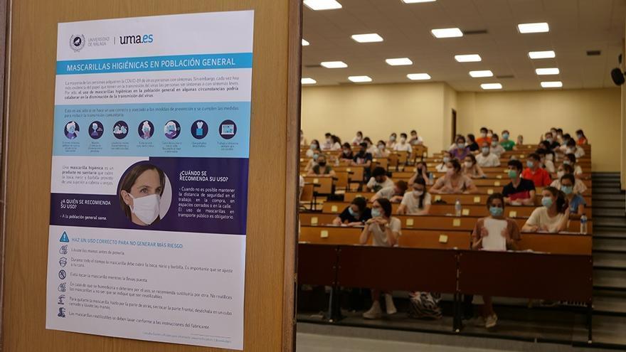 Más de 8.300 estudiantes se matriculan en Málaga para hacer la Selectividad