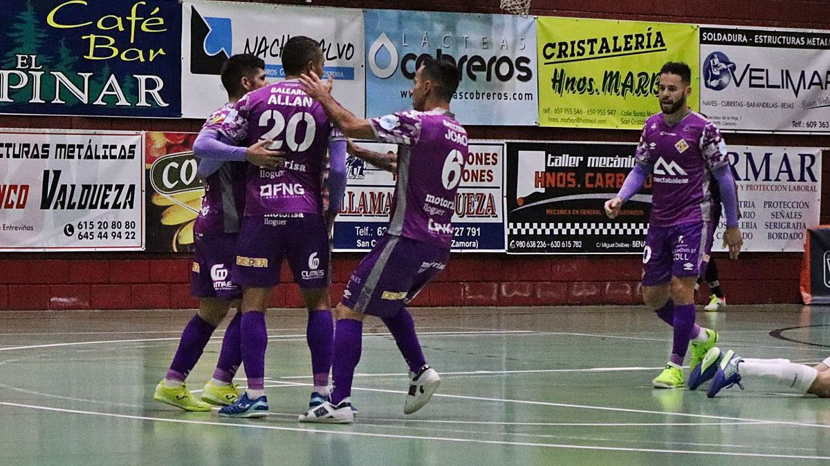 El Palma Futsal cumple el trámite