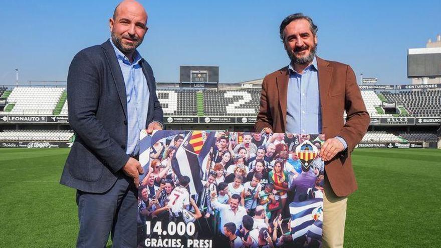 El Castellón ya tiene 14.000 poderosas razones para luchar por el ascenso