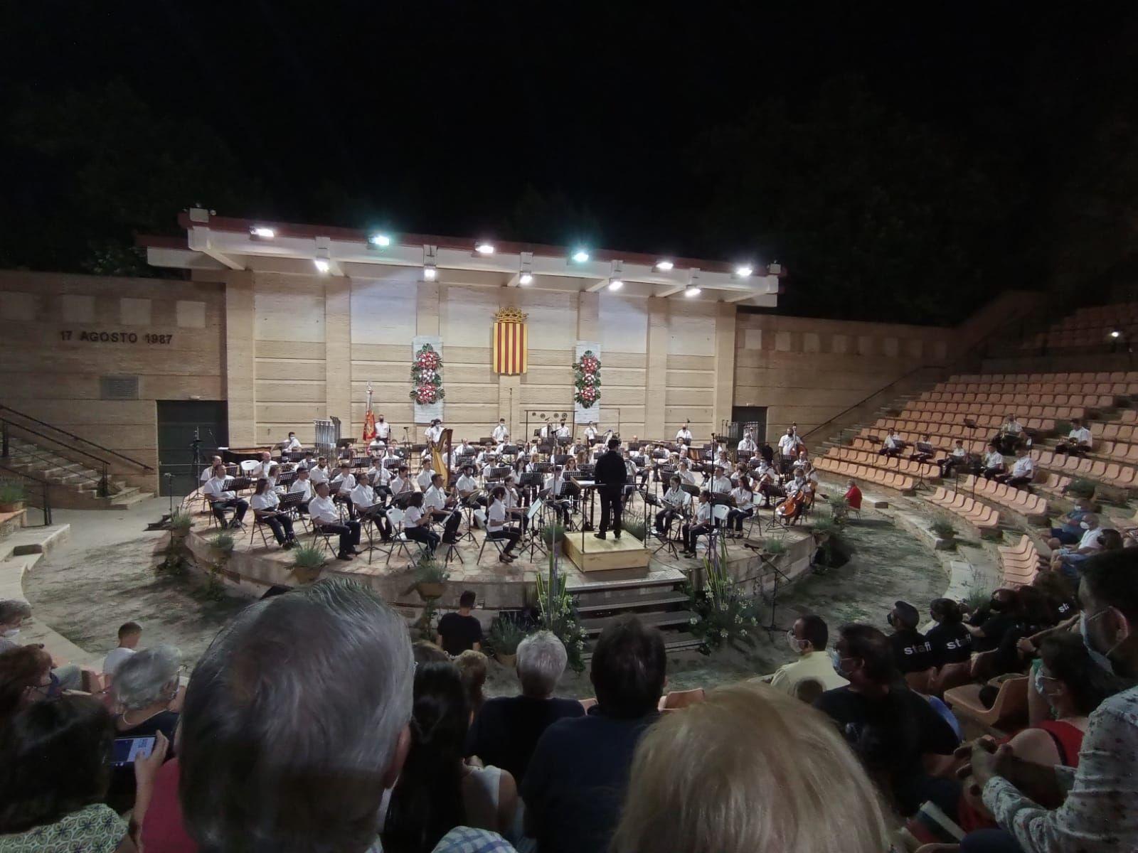 Buñol cierra un verano cultural que desafía a la covid-19