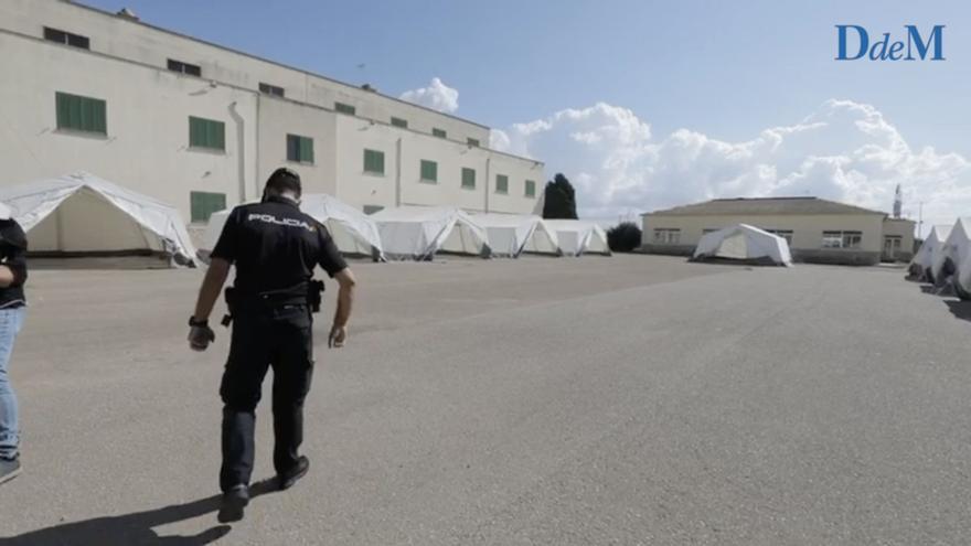 Abren en Son Tous un centro para migrantes ante la oleada de pateras en Baleares