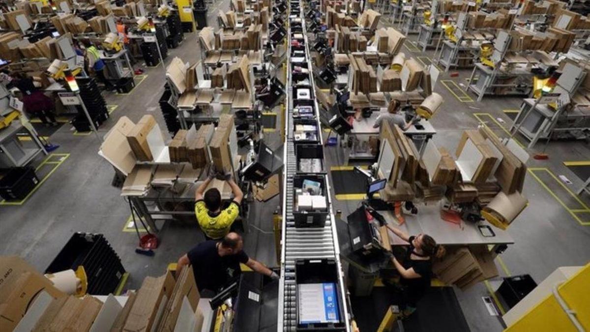 Magatzem logístic d'Amazon