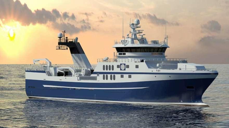 Astilleros Gondán inicia la construcción de un segundo arrastrero para Noruega