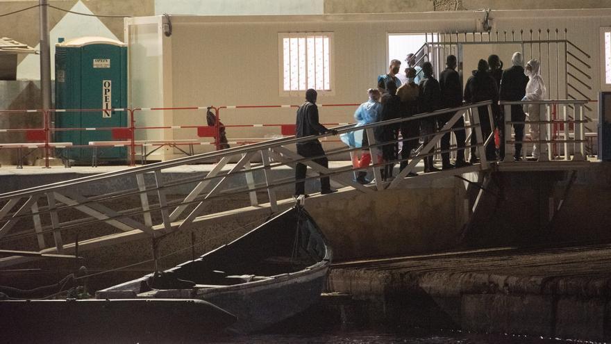 Llegada de migrantes a Fuerteventura (02/09/21)
