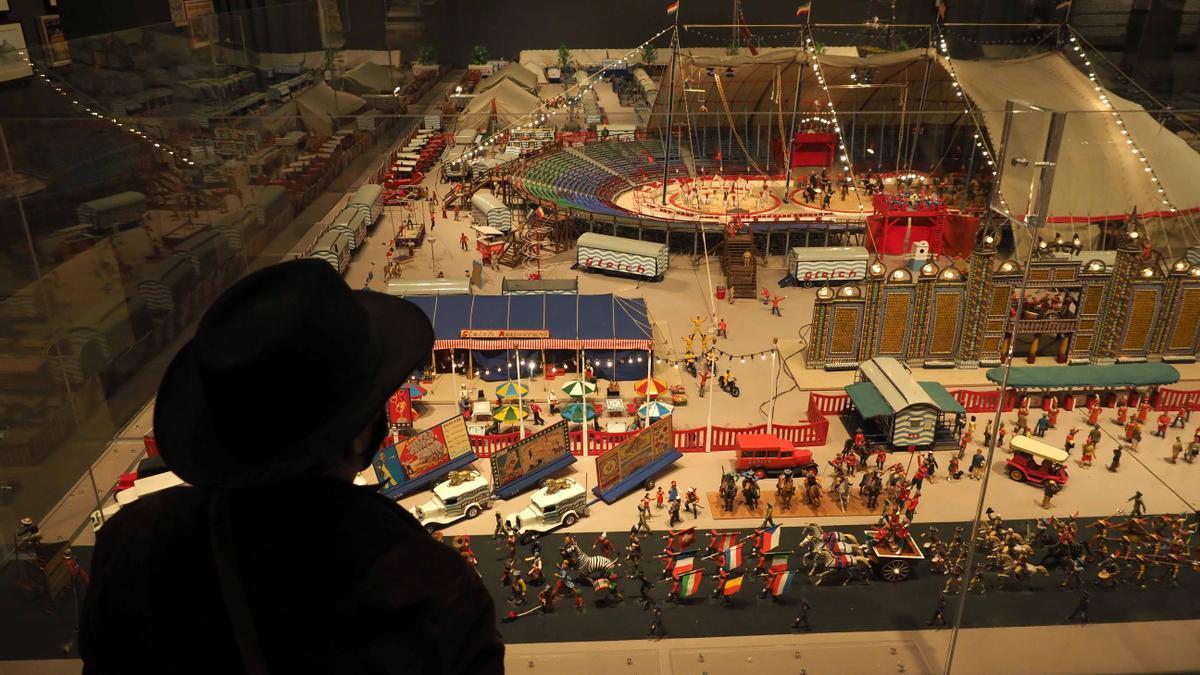 Un visitant a Circusland