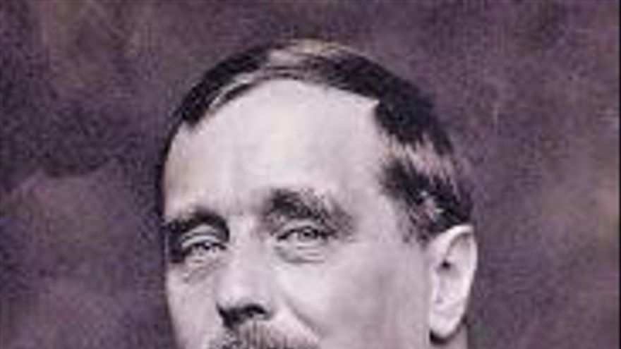 H. G. Wells, com a excusa | La máquina del tiempo