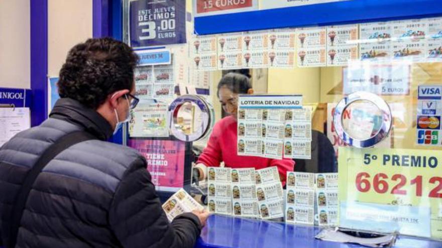 La fortuna deja diez millones de euros en Canarias