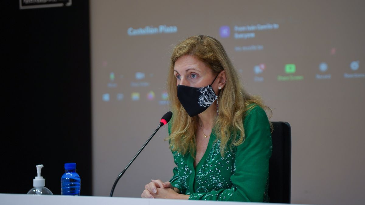 Amparo Marco, alcaldesa de Castelló.