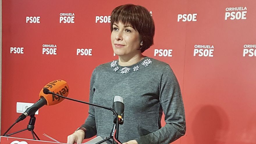 La portavoz del PSOE de Orihuela Carolina Gracia