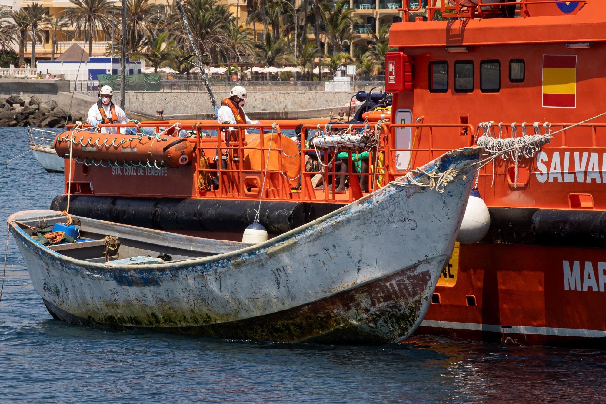 Llegada de migrantes a Gran Canaria (04/09/21)