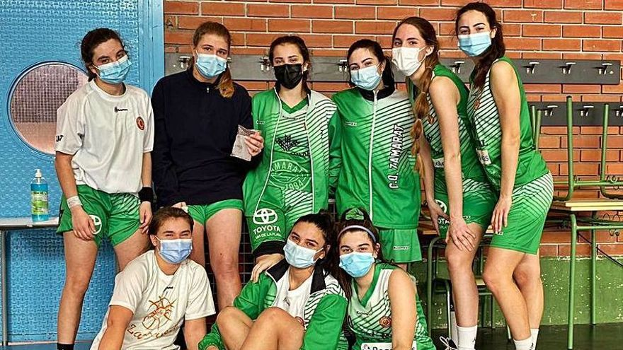 El CD Zamarat júnior pone fin a su inactividad con una derrota en Valladolid