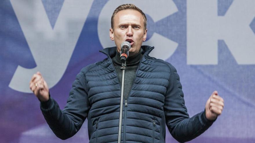 """El portavoz presidencial ruso sobre Navalni: """"Yo tendría cuidado con las acusaciones"""""""