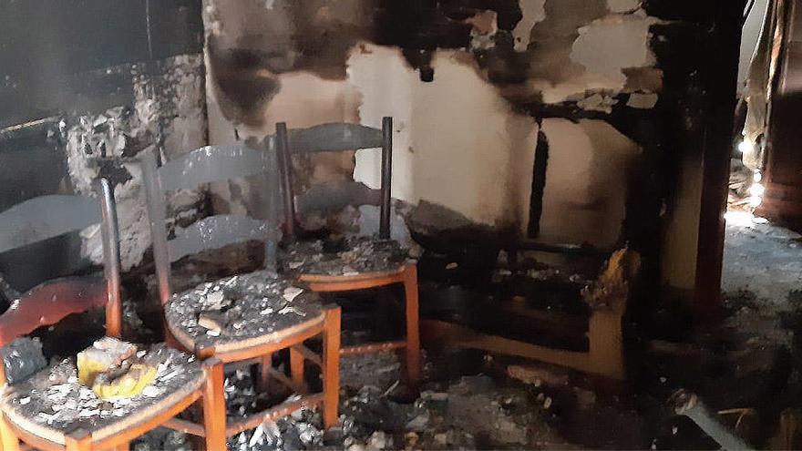 Un fallecido tras el incendio de una vivienda en Vélez-Málaga