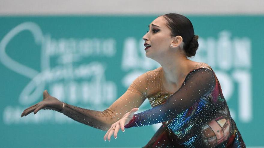 La fuengiroleña Natalia Baldizzone, campeona del mundo de patinaje