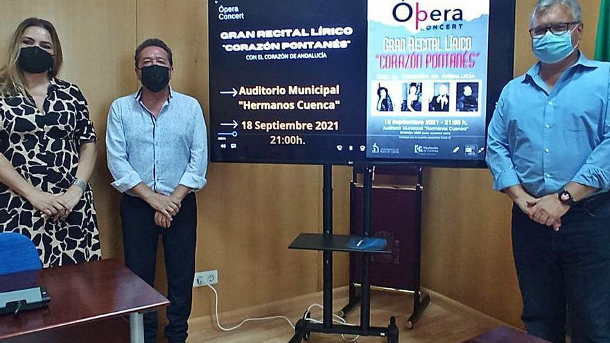 'Corazón pontanés' estrena el nuevo auditorio municipal