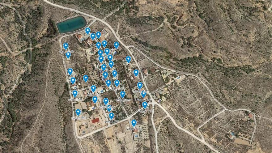 Albatera cuenta con 1.500 viviendas en diseminados fuera del casco urbano