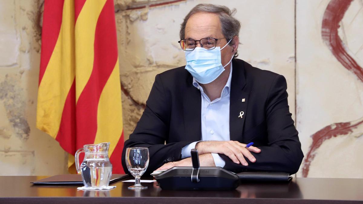 El expresidente catalán Quim Torra.