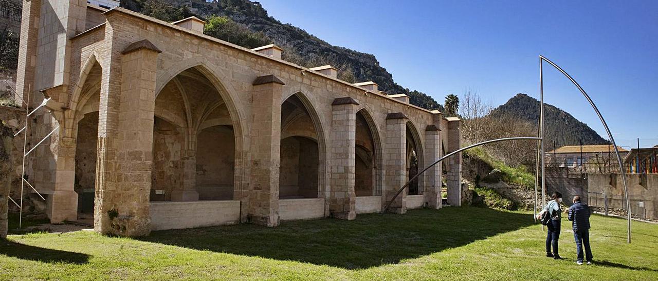Vista del claustro de  Sant Domènec, en una imagen del pasado mes de marzo   PERALES IBORRA