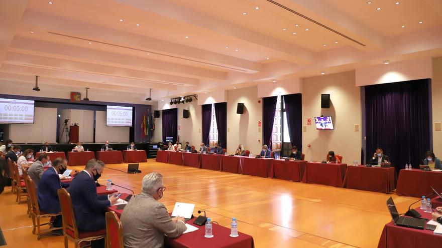 La Diputación muestra su apoyo a la lucha de las mancomunidades contra la despoblación