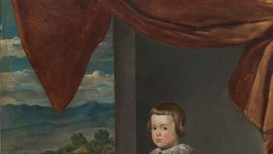 El Bellas Arte recibe del Prado un retrato del taller de Velázquez