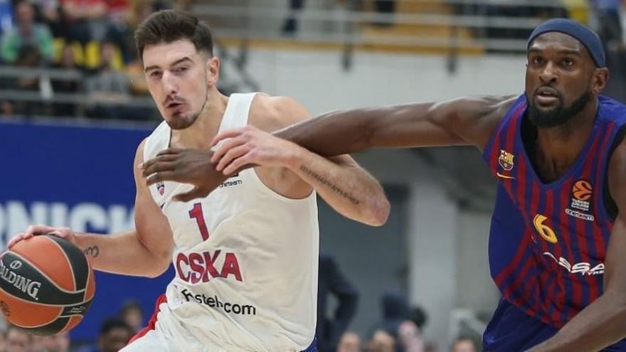 El CSKA destapa las carencias de un irregular Barcelona