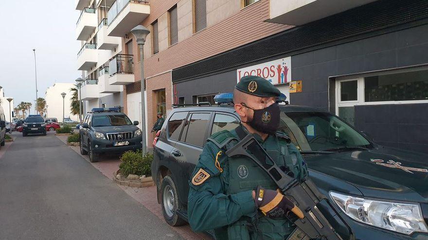 Golpe en la Costa del Sol a la financiación de un grupo de narcos almerienses