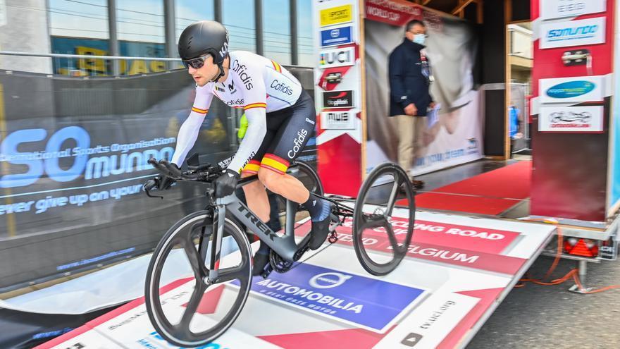 Joan Reinoso disputará el Mundial de ciclismo adaptado